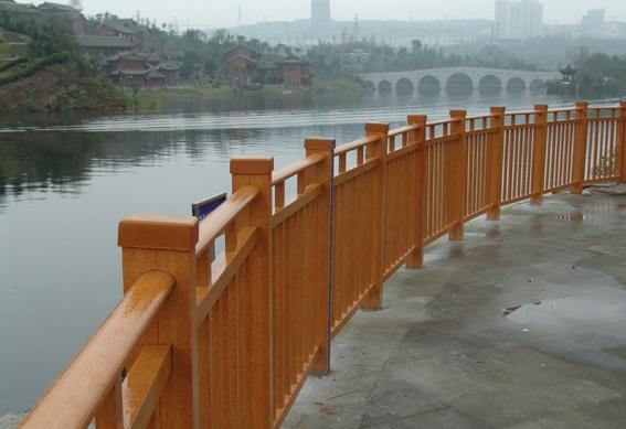 重庆园博园护栏